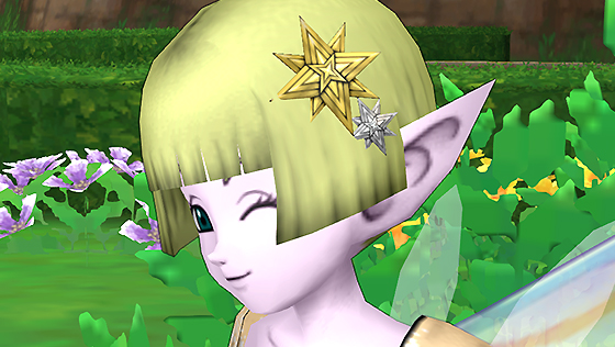 妖精の女王の髪飾り【フリーパス】