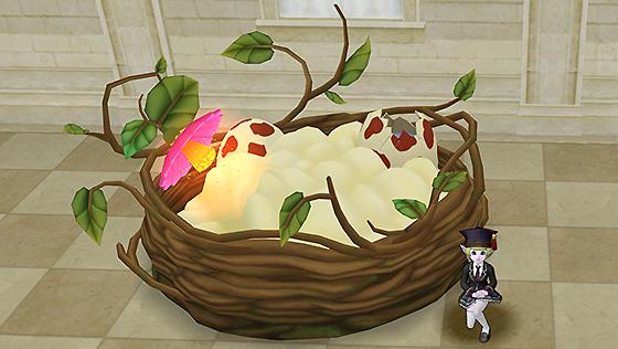 飛竜の巣のベッド【フリーパス】