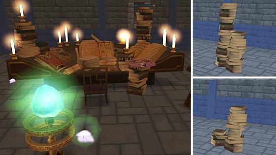 妖精図書館の家具5点セット【フリーパス】