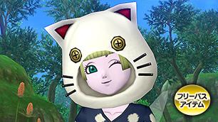 白猫のフード【フリーパス】