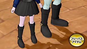 黒猫のブーツ【フリーパス】