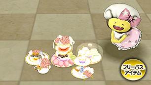 すてきなお茶会セット【フリーパス】