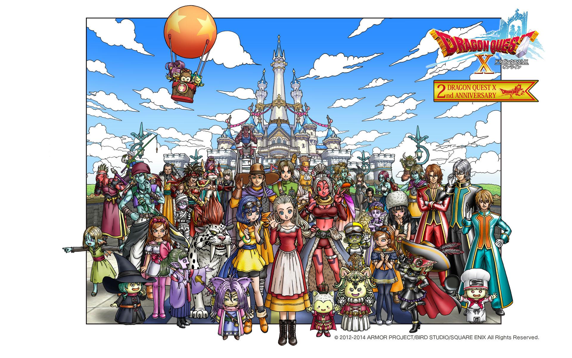 2周年記念 スペシャル壁紙プレゼント 14 8 2 目覚めし冒険者の広場