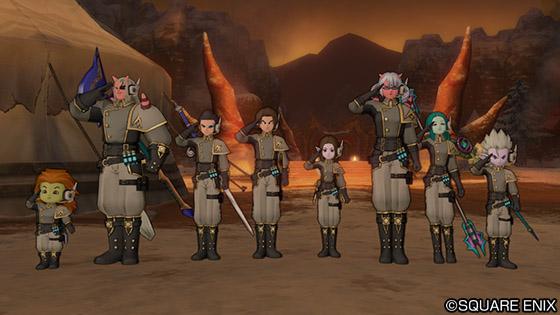 防衛 ドラクエ 軍 10
