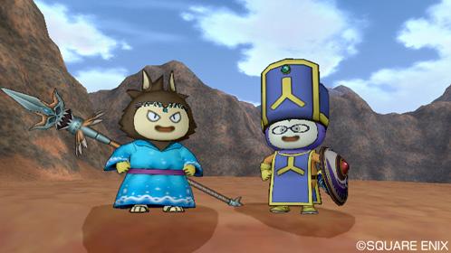 ふじくす(左)よーすぴ(右)は僧侶で参戦予定です。
