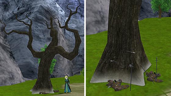 旧ネクロデアの剣刺さる木[FP]