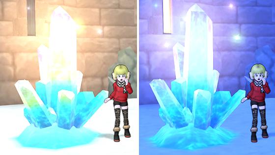 氷の領界の光る結晶 [FP]