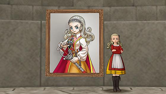 壁かけアンルシア肖像画[FP]