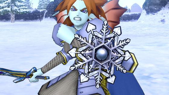 銀雪結晶の盾 [FP]