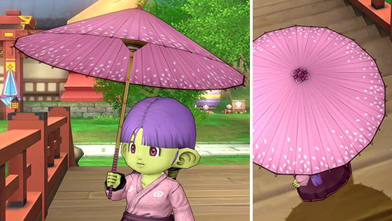 こぼれ桜の番傘 [FP]