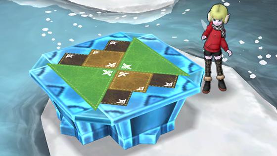 氷の領界のテーブル [FP]