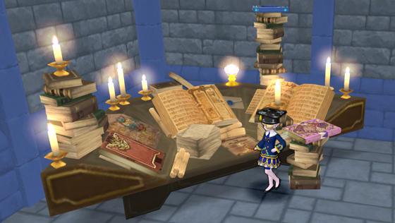 妖精図書館の机 [FP]