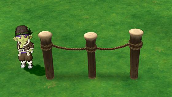 便利なロープ柵[FP]
