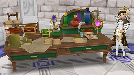 王都キィンベルの机 [FP]