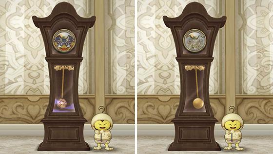 振り子の柱時計 [FP]