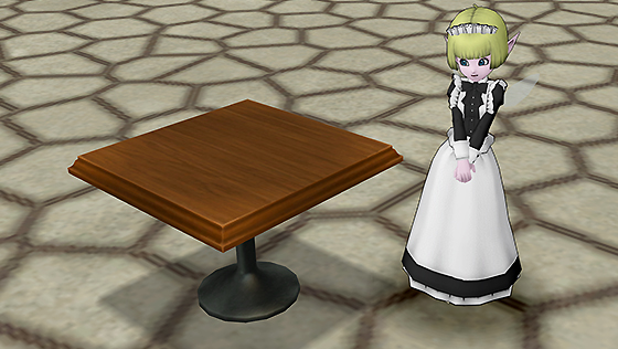 純喫茶のテーブル[FP]