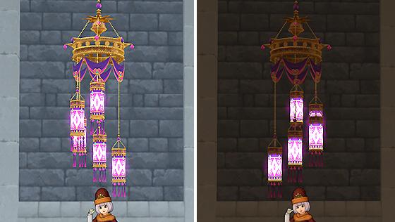 占い師の円柱吊りランプ [FP]