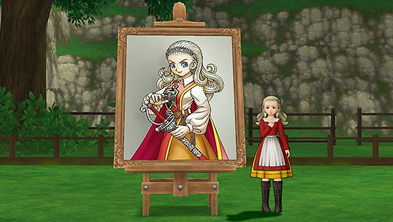 アンルシアの肖像画・庭[FP]
