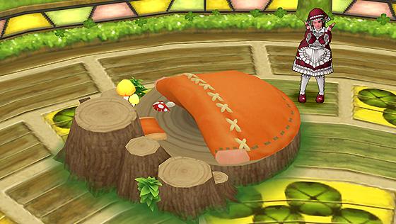森のこびとのベッド [FP]
