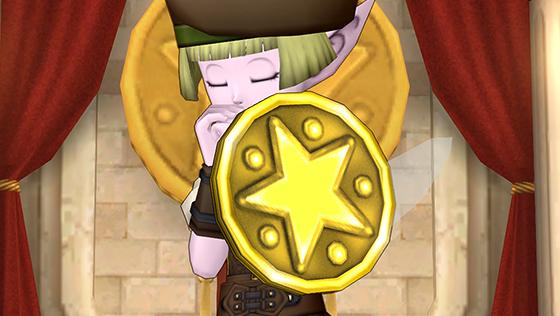 ちいさなメダルの盾 [FP]