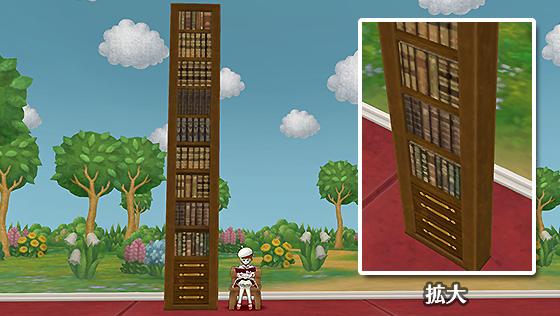 本棚の壁 [FP]