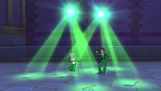 しぐさ書・ダンシング緑