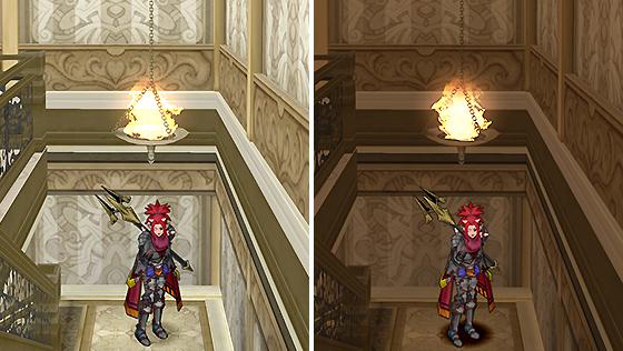 魔塔の吊りランプ・赤 [FP]