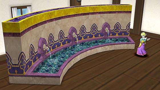 ファラザード城の壁泉[FP]