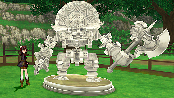 朽ちた魔神兵の石像 [FP]