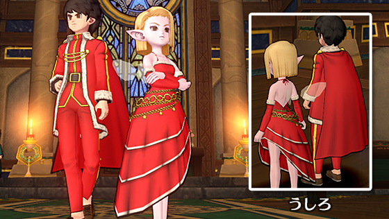 聖天のコート/聖天のドレス [FP]