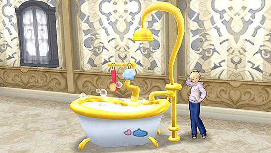 シャワー付きバスタブ [FP]