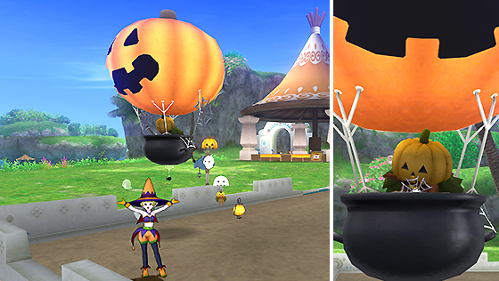 カボチャの気球 [FP]