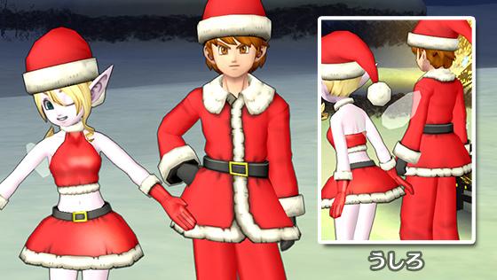 サンタの服上/サンタガールトップ [FP]