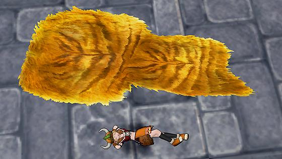 古代オルセコの毛皮敷物【フリーパス】