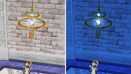 王都キィンベルの円照明 [FP]