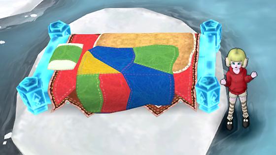 氷の領界のベッド [FP]