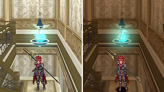 魔塔の飾り吊りランプ [FP]