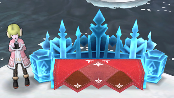 氷の領界の氷ソファ [FP]