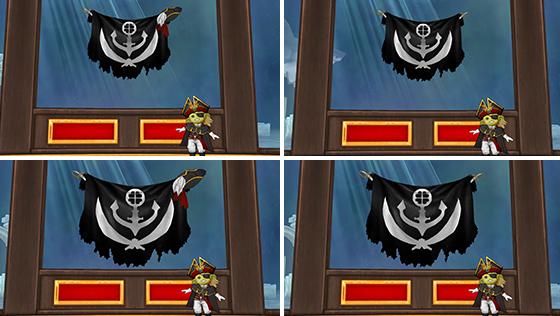 壁かけ海賊フラッグ [FP]