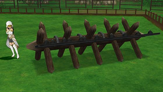 古グランゼドーラの鉄柵 [FP]