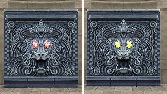 真・魔幻宮殿の獅子の壁[FP]