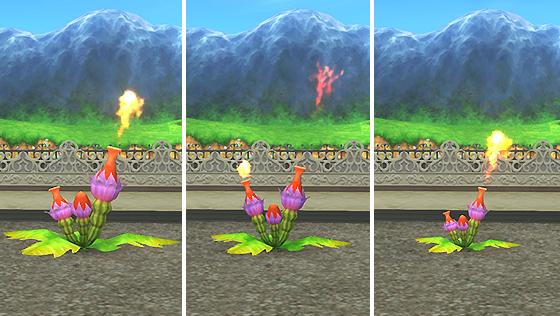 炎の領界の植物・小 [FP]