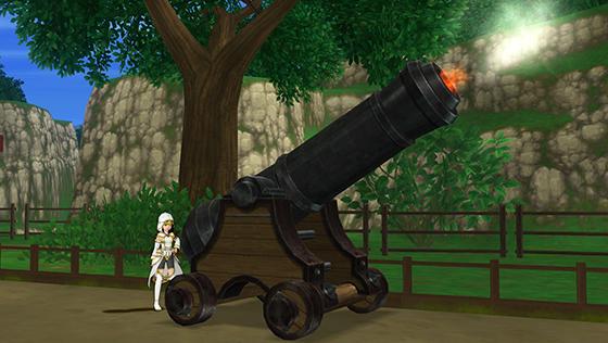 古グランゼドーラの砲台 [FP]