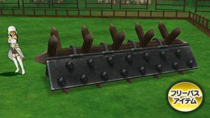 古グランゼドーラの鉄柵【フリーパス】