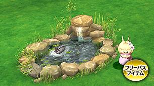 水鳥のいる池・庭 [FP]