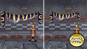 壁かけ闘技城ペナント紫【フリーパス】