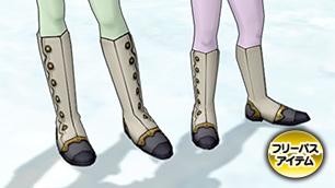 月光蝶のブーツ【フリーパス】